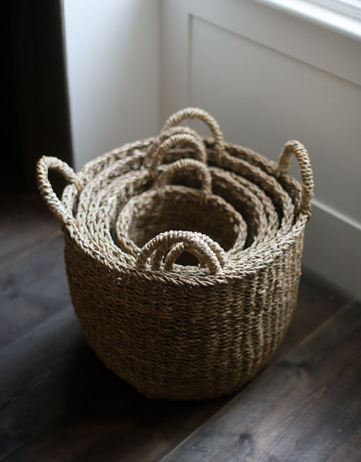 sea-grass basket set