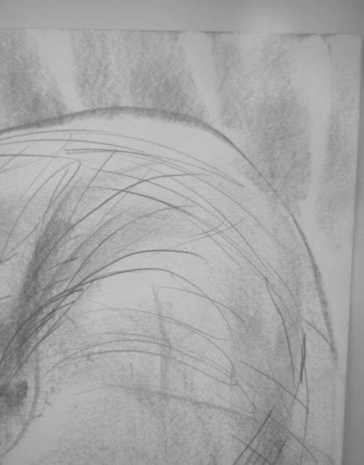 Walnuts Farm, Nick Ivins, Framed Drawing, Female Drawing